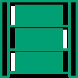 Иконка система стеллажного хранения